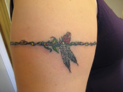 precioso tatuajes de brazalete