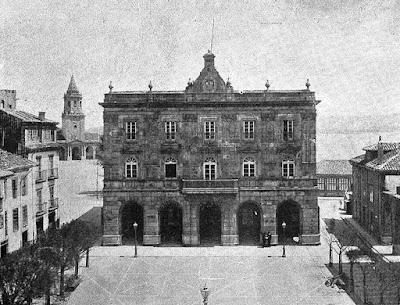 La sede del Ayuntamiento gijonés a principios del siglo XX