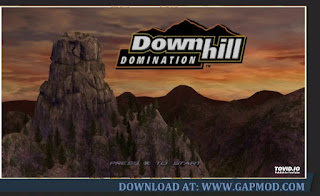 Game PSP Downhill