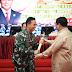 Kunjungan Kerja Menhan ke Akademi Militer di Dampingi Kasad Jendral TNI Andika Perkasa
