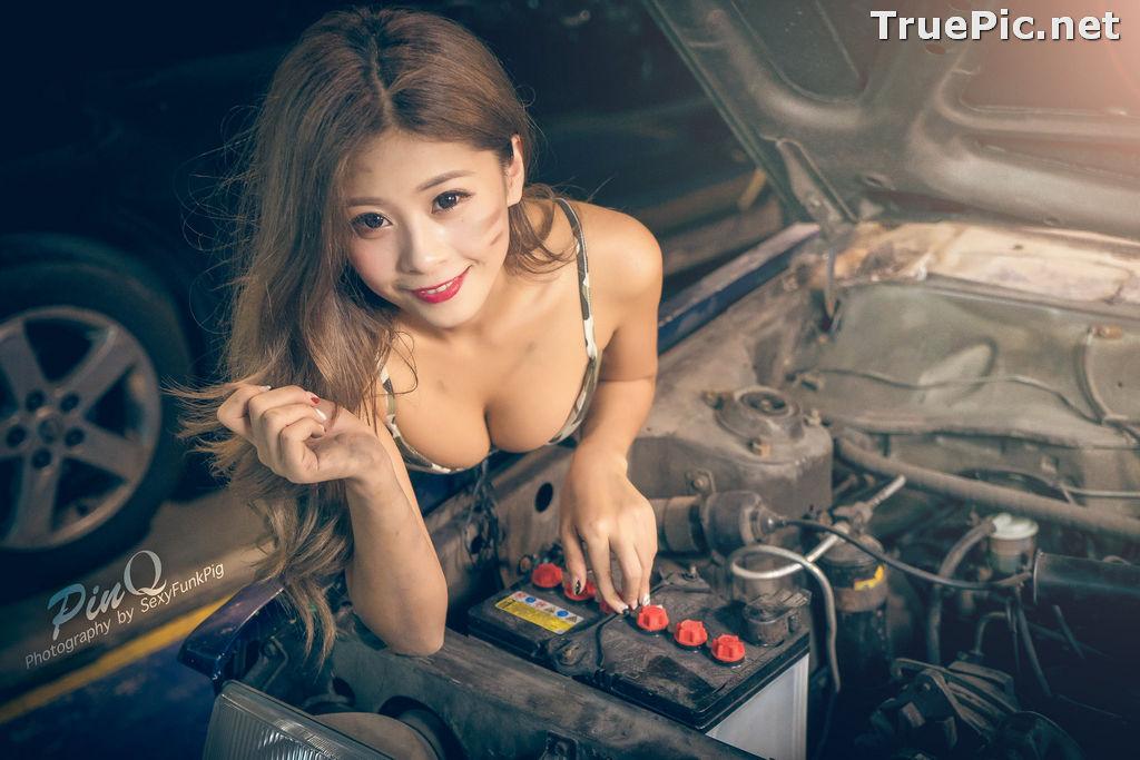 Image Taiwanese Model - PinQ憑果茱 - Hot Sexy Girl Car Mechanic - TruePic.net - Picture-7