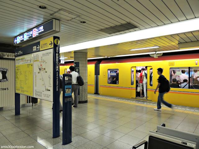 Estación de Metro de Shibuya, Tokio