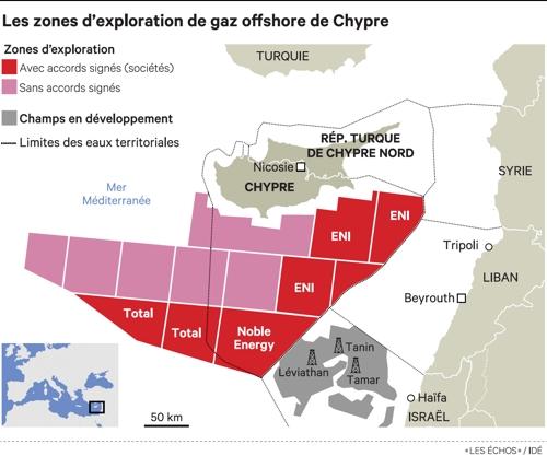 Gas de Chipre reaviva tensiones entre Atenas y Ankara