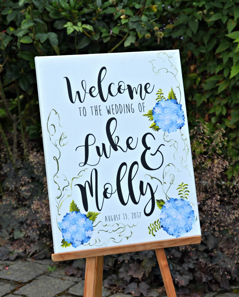 silhouette, cameo, cutting vinyl, handmade sign, wedding DIY
