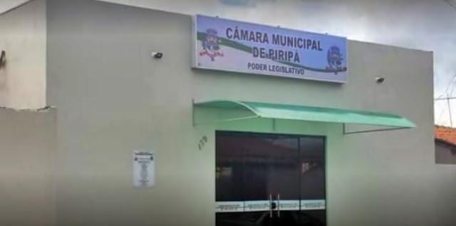 Piripá: Câmara Municipal se posiciona sobre o afastamento do Prefeito