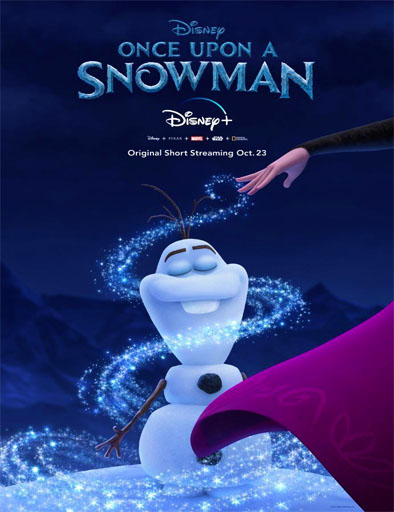 pelicula Érase una vez un muñeco de nieve (2020)