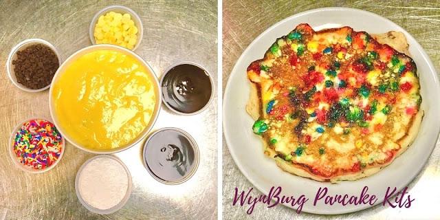 WynBurg Cafe Pancake Kits for at Home Fun