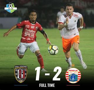 Bali United vs Persija 1-2