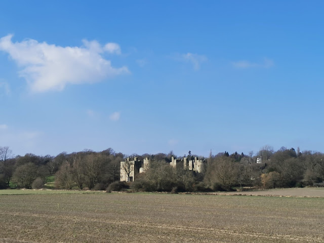 Bodiam Castle in East Sussex is a magnificent example of a moated castle, there are also wider estate walks to enjoy