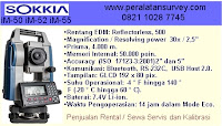 SERPONG SOKKIA IM-52 Total Station 2 Display Reflectorless