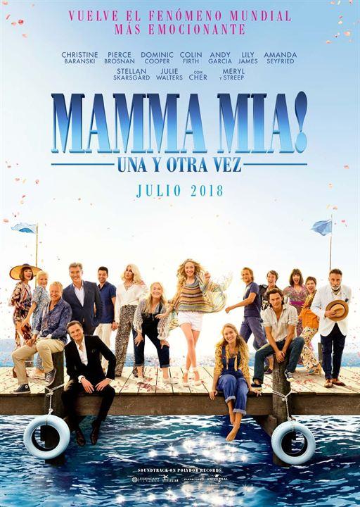 """Cartel de """"Mamma Mia! Una y otra vez"""""""