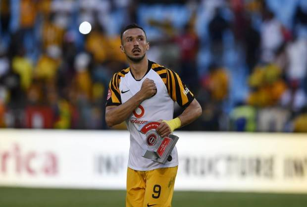 Samir Nurkovic scored twice as Kaizer Chiefs