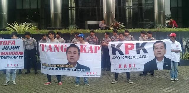 Diduga Terlibat Mafia Anggaran, Wakil Ketua DPR Dilaporkan Ke KPK