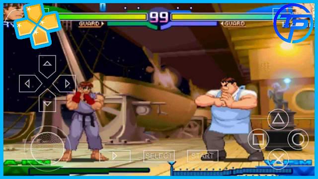 تحميل لعبة القتال street fighter alpha 3 max على محاكي ppsspp
