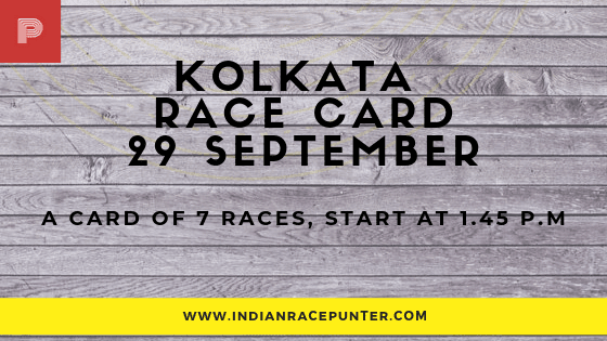 Kolkata Race Card , free indian horse racing tips, indiarace