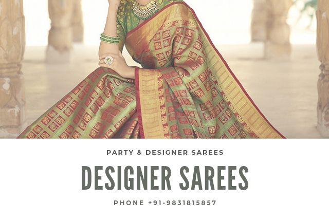 designer sarees with price