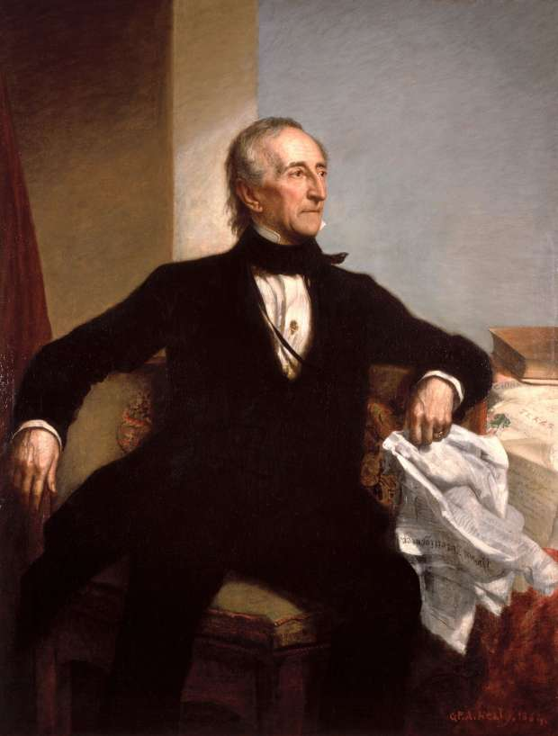 Before the congressional storm ... the Americans attacked the White House 180 years ago