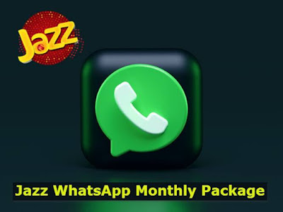 Jazz WhatsApp Monthly Package Price Only Rs.99