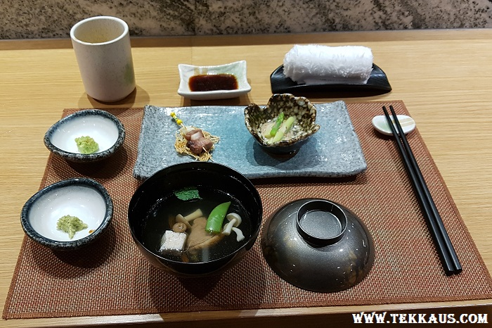 Miyabi Sheraton PJ Japanese Clear Miso Soup