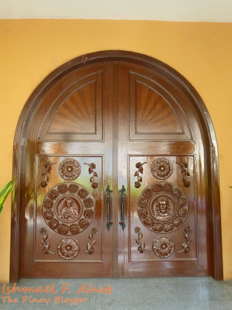 Door of Shrine of St. Therese of the Child Jesus