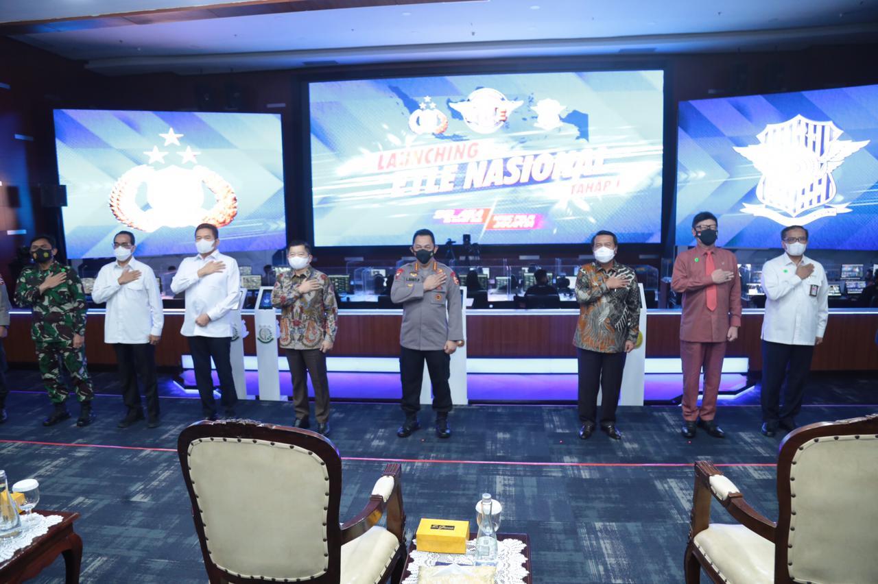 Polda Sulawesi Selatan Resmi Terapkan Tilang Elektronik