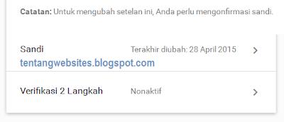 Cara verifikasi 2 langkah gmail agar akun lebih aman