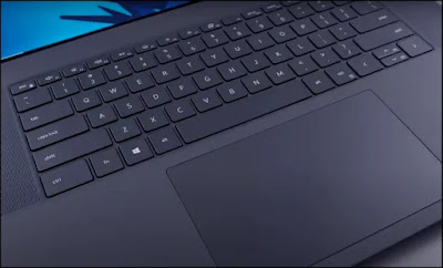 New Dell XPS 17: Keyboard