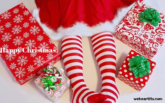 writing merry christmas