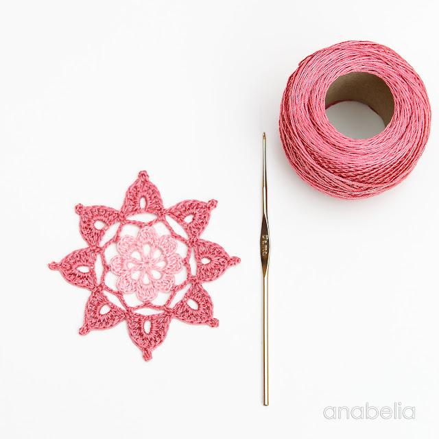 Crochet Motif 5 / 2017 pattern  Anabelia Craft Design