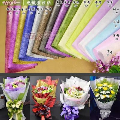 Kertas Buket Bunga Seri CS-060060