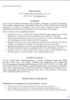 help desk technical support resume sample format in word - Technical Support Resume Samples