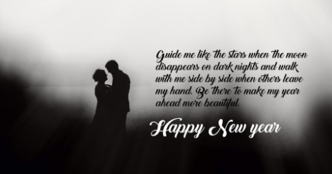Happy New Year 2017 wishes of the girl:
