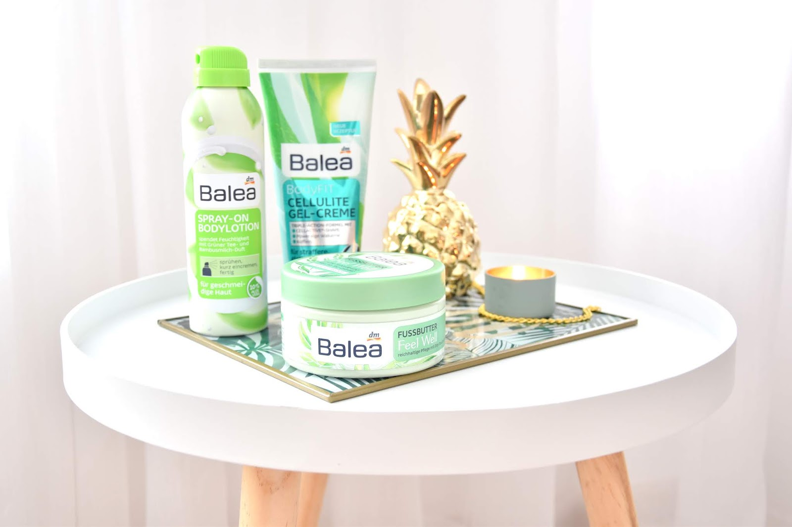 Balea Feel Well maslo na nohy Balea Spray-on bodylotion Balea BodyFit CELLULITE GEL CREME