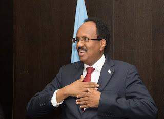 الرئيس محمد عبدالله فرماجو يلقي كلمة جمهورية الصومال أمام الجمعية العامة للأمم المتحدة