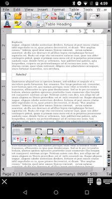 تطبيق AndrOpen Office v4.3.3 Full كامل للأندرويد