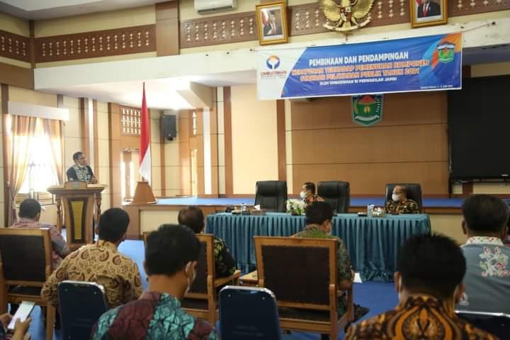 Wali Kota Sungai Penuh Minta SKPD Wujudkan Pelayanan Publik Optimal Dimasa Pandemi Covid-19