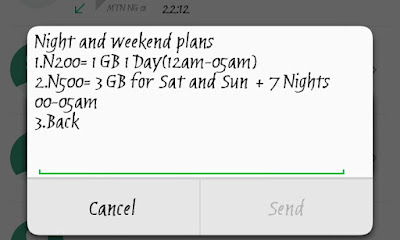 "How to Subscribe GLO ""TGIF Weekend Data Plan"" – Get 3GB For ₦500"