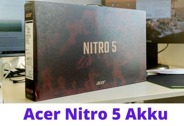Acer Nitro 5 box