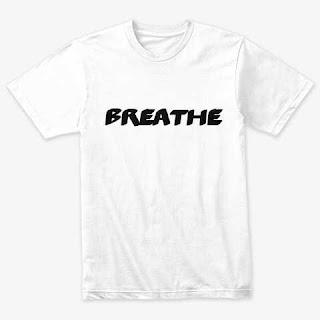 Breathe Classic Triblend Tee Shirt White