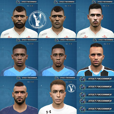 PES 2016 Facepack 2 Olimpico + Buffarini By Steet Collab Facemaker saviogoncalves1995