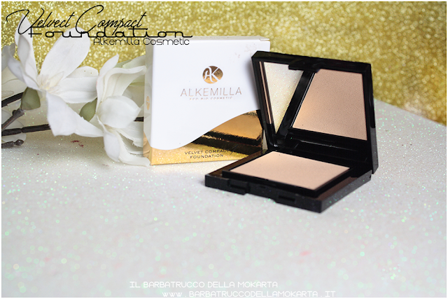 pareri velvet compact foundation, fondotinta compatto in crema alkemilla
