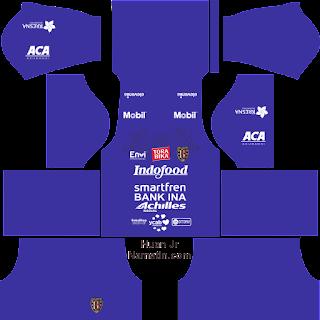 Seragam Dream League Soccer Bali United 2020