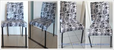 Recuperando cadeira de plástico; arte em cadeira de plástico; faça você mesmo; reforma de móveis; renovando com pouco dinheiro