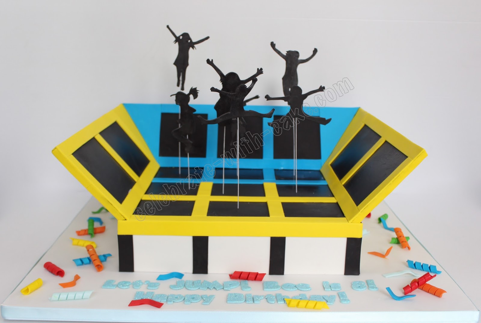 Celebrate With Cake Trampoline Park
