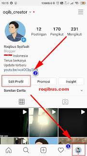 cara mengganti nama di Instagram