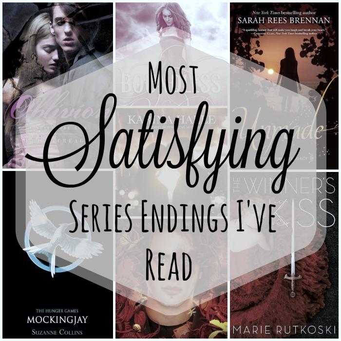 Most Satisfying Series Endings I've Read