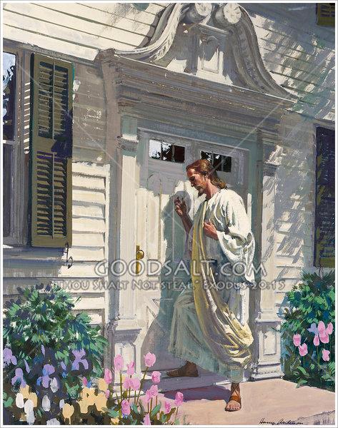 Jesús-llama-puerta