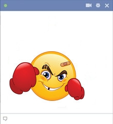 Facebook Boxer Smiley Face