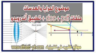 المرايا والعدسات في الفيزياء pdf