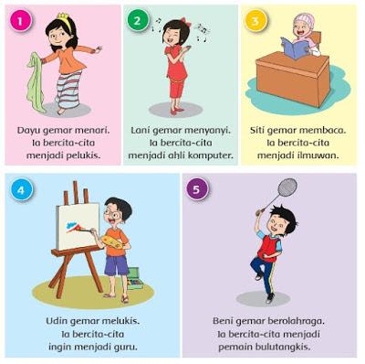 Kunci Jawaban Kelas 4 Tema 6 Subtema 1 Pembelajaran 5